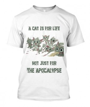 A Cat Is For Life Tee