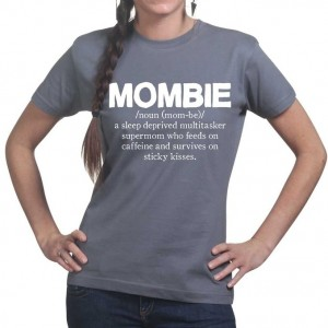 Mombie Mothers Day Zombie Tee