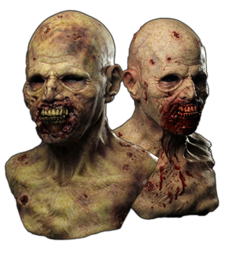 Realistic Silicone Zombie Mask