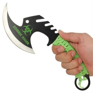 Zombie Throwing Axe